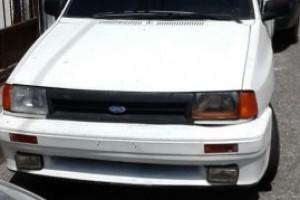 Ford Festiva 1990 Gas y Gasolina