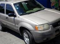 Ford escape 2001 financiamiento recibo vehiculo