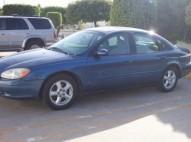Ford taurus 2002 azul