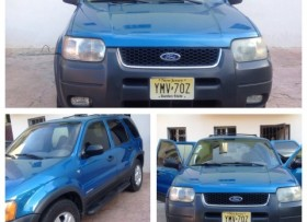 Ford Escape 2001 en excelentes condiciones