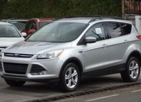 Ford Escape Full 2015 Plateada Piel Pantalla