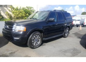Ford Expedition 2015 ecoboost negra