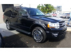 Ford Expedition 2016 extendida negra