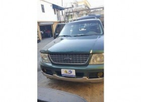 Ford Explorer 2002 Color verde