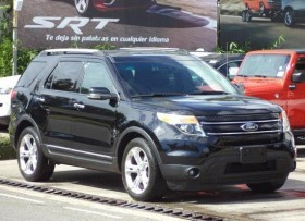 Ford Explorer XLT 2015 Negra Piel Camara Aros 20