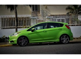 Ford Fiesta ST Green Envy -
