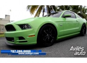 Ford Mustang GT 50 2013