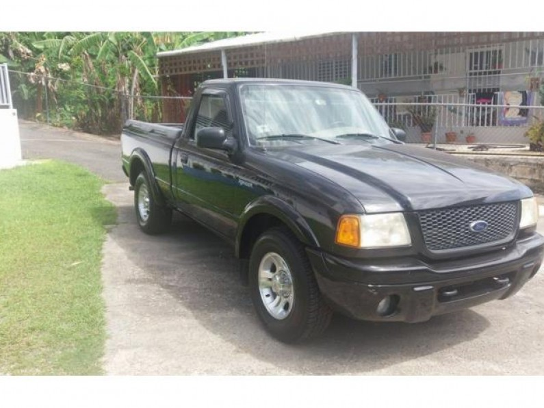 Ford Ranger Edge 2001 Cabina Sencilla 5500