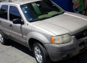 Ford escape 2001 financiamiento resivo vehiculo