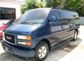 GMC SAVANA 2002 CUSTOM