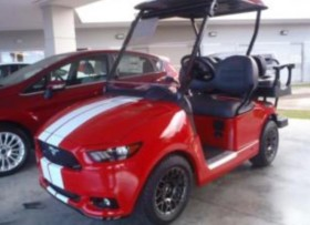 GOLF CARS MUSTANG EXCLUSIVO FAJARDO FORD