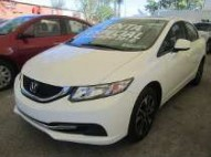 HONDA CIVIC EXL BLANCO 2013