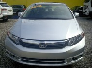 HONDA Civic 2012 ex-l gris plata full