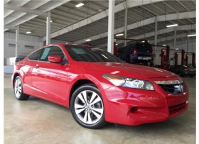 HONDA ACCORD EX-L COUPE 2DR FWD 2012
