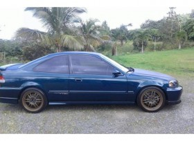 HONDA CIVIC DEL 97 ALTERADO MOTOR D16