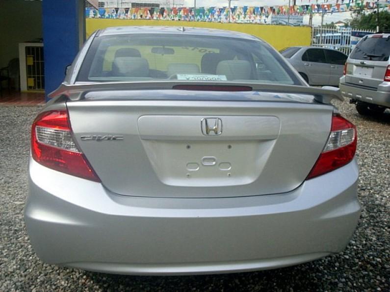 HONDA Civic 2012 ex-l gris plata full