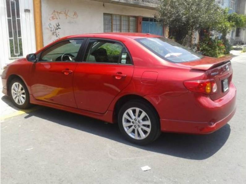 Hermonsa Toyota Corolla Rojo 2009
