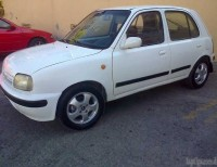 Hermosa Nissan March 2000 Blanca 4 PtasAutomatica Aire Aros Full