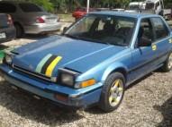 Honda Accord 1987 DX Automatico aros bien
