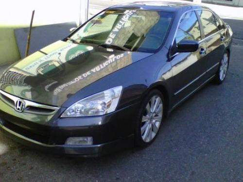 honda accord 2005 ex full gris aros 18 santo domingo. Black Bedroom Furniture Sets. Home Design Ideas