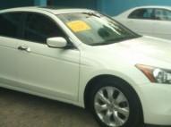 Honda Accord 2010 V6 full blanco perla recien importado