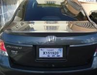 Honda Accord 2010 color gris el abusador