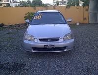 Honda Civic 2000 Excelentes Condiciones Llevatelo Con 100 Mil