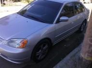 Honda Civic 2001 gris claro