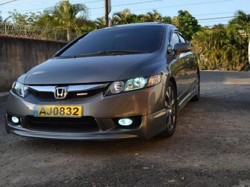 Honda Civic 2006 Con Frente 2010, Aros Si 2012 Y Extras ...