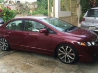 Honda Civic 2007 Rojo