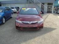 Honda Civic 2009 Rojo