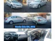 Honda Civic 2012 EXL Full Azul Cielo Recién Import 12