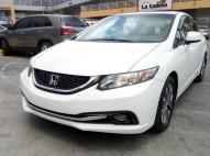 Honda Civic 2013 Americano con Leather y Sunroof