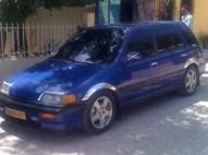 Honda Civic 88 Azul Metlico