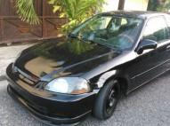 Honda Civic Coupe 98 Negro