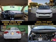 Honda Civic LX 2008 BLANCO