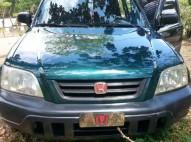 Honda CrV 2001 verde automatica americana