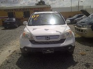 Honda Crv 2007 La Mas Nueva Full Lether Sun Run Llevatela Con 200 Mi