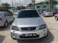 Honda Crv gris 1999 plata