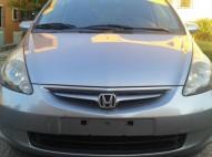 Honda Fit 2007 Gris Full