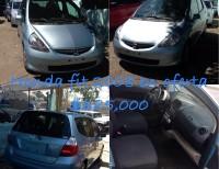 Honda Fit 2008 Azul Nueva Inicial 80000 Pesos