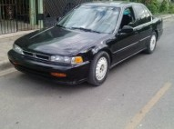 Honda accord 1990 negro