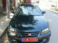 Honda accord 2001 verde botella
