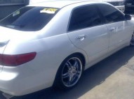 Honda accord 2005 blanco