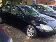 Honda accord 2005 negro