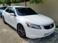 Honda accord 2009 blanco