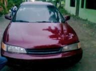 Honda accord 94 rojo con motor del 2000