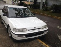 Honda civic 1991 90 blanco 4 puertas