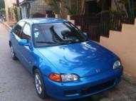 Honda civic 1992 azul