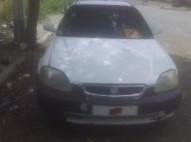 Honda civic 1997 blanco americano